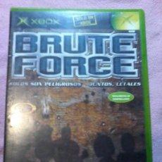 Videojuegos y Consolas: BRUTE FORCE XBOX PAL COMPLETO. Lote 111303275