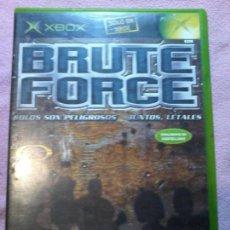 Videojuegos y Consolas: BRUTE FORCE XBOX PAL COMPLETO. Lote 111303279