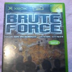 Videojuegos y Consolas: BRUTE FORCE XBOX PAL COMPLETO. Lote 111303283