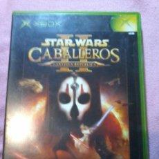 Videojuegos y Consolas: STAR WARS CABALLEROS DE LA ANTIGUA REPUBLICA XBOX LUCAS ARTS . Lote 143004405