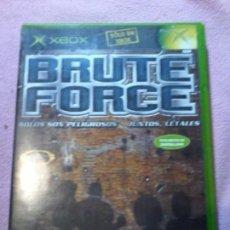 Videojuegos y Consolas: BRUTE FORCE XBOX . Lote 111304691