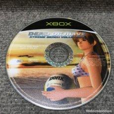 Videojuegos y Consolas: DEAD OR ALIVE XTREME BEACH VOLLEYBALL·XBOX. Lote 112847284