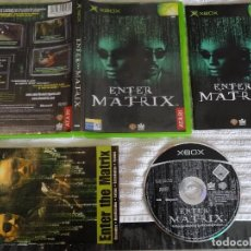 Videojuegos y Consolas: JUEGO PARA XBOX - ENTER MATRIX + GUÍA 360 ED. ESPAÑOLA. Lote 117154451