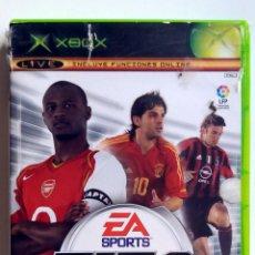 Videojuegos y Consolas: FIFA 2005 • X-BOX (PAL ESPAÑA). Lote 117232867