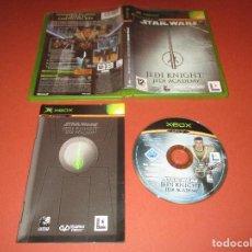 Videojuegos y Consolas: STAR WARS ( JEDI KNIGHT : JEDI ACADEMY ) - XBOX - CONSIGUE TU ARMA Y SIGUE EL CAMINO DEL JEDI. Lote 126187955