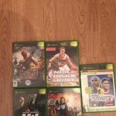 Videojuegos y Consolas: LOTE DE JUEGOS XBOX. Lote 128148192