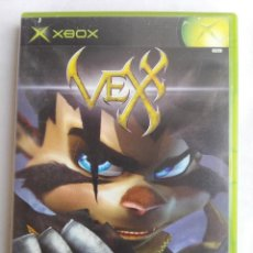 Videojuegos y Consolas: XBOX - VEXX - COMPLETO - PAL ESPAÑA - DOBLADO AL CASTELLANO. Lote 128545939