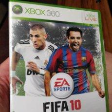 Videojuegos y Consolas: JUEGO DE XBOX FIFA 10. Lote 130803116