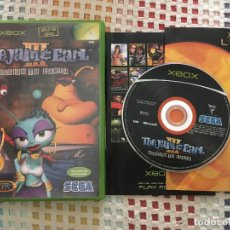 Videojuegos y Consolas: TOM JAM & EARL MISSION TO EARTH 3 III SEGA XBOX EXCLUSIVO CASTELLANO KRAETEN X-BOX. Lote 130853052
