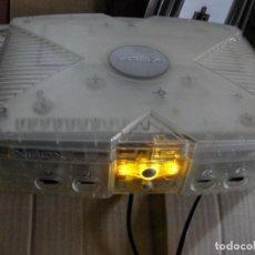 Videojuegos y Consolas: ANTIGUA XBOX TRANSPARENTE. Lote 131592650