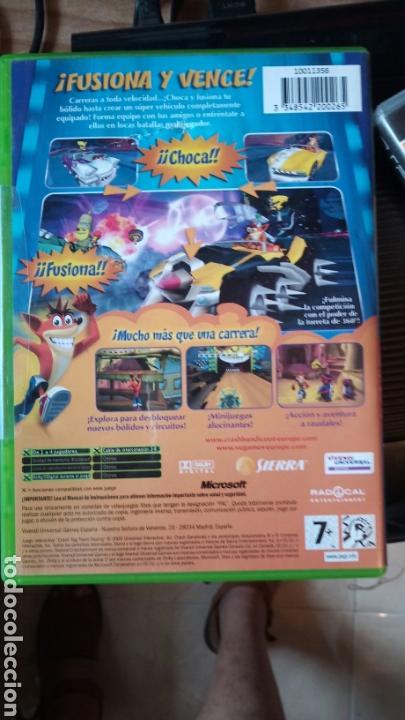 Videojuegos y Consolas: Crash tag team racing xbox - Foto 2 - 132260473