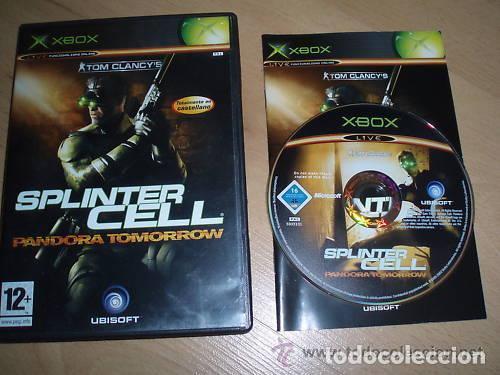 JUEGO XBOX SPLINTER CELL PANDORA TOMORROW (Juguetes - Videojuegos y Consolas - Microsoft - Xbox)