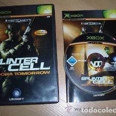 Videojuegos y Consolas: JUEGO XBOX SPLINTER CELL PANDORA TOMORROW. Lote 132530450