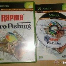 Videojuegos y Consolas: JUEGO XBOX RAPALA PRO FISHING. Lote 133091026