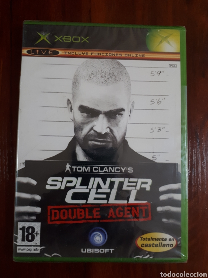 TOM CLANCY'S - SPLINTER CELL - DOUBLE AGENT - MICROSOFT XBOX - PAL - NUEVO - NEW (Juguetes - Videojuegos y Consolas - Microsoft - Xbox)