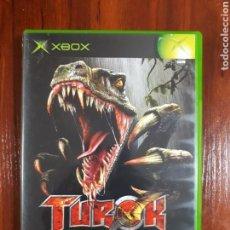 Videojuegos y Consolas: TUROK - EVOLUTION - MICROSOFT XBOX - PAL - COMPLETO. Lote 70024517
