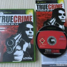 Jeux Vidéo et Consoles: TRUE CRIME STREETS OF LA TRUECRIME XBOX 1 X-BOX X BOX KREATEN STREET. Lote 135251830
