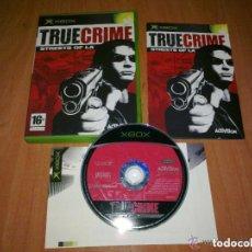 Videojuegos y Consolas: JUEGO XBOX TRUE CRIME STREET OF LA. Lote 135628566