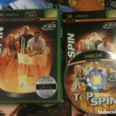 Videojuegos y Consolas: JUEGO XBOX TOP SPIN. Lote 135740791