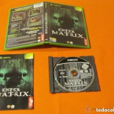 Videojuegos y Consolas: JUEGO XBOX ENTER THE MATRIX. Lote 135740815