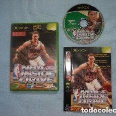 Videojuegos y Consolas: JUEGO XBOX NBA 2003 INSIDE DRIVE. Lote 135740839