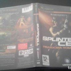 Videojuegos y Consolas: SPLINTER CELL: PANDORA TOMORROW • X-BOX • PAL (CASTELLANO Y COMPLETO). Lote 135840438