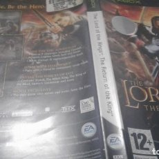 Videojuegos y Consolas: LORD OF THE RINGS THE RETURN OF THE KING XBOX. Lote 136023390