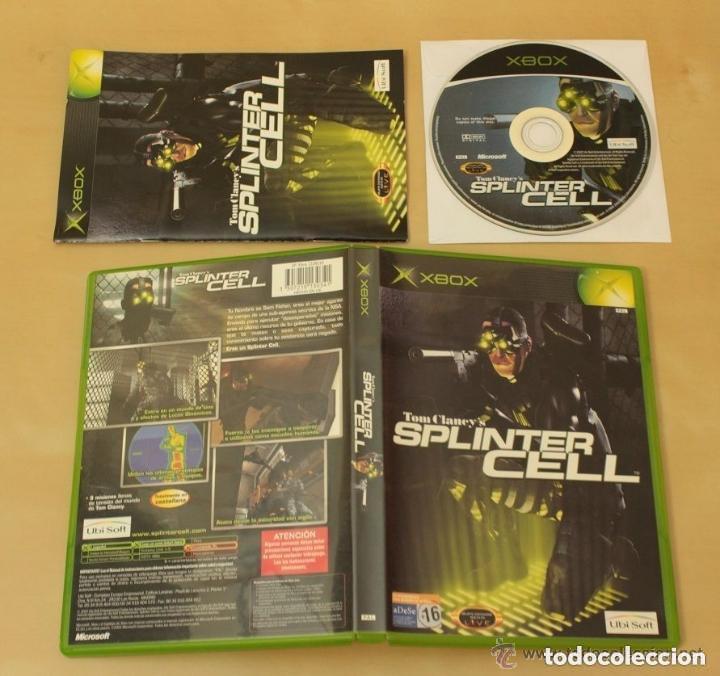 JUEGO XBOX SPLINTER CELL (Juguetes - Videojuegos y Consolas - Microsoft - Xbox)