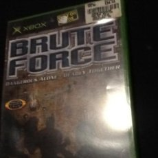 Videojuegos y Consolas: BRUTE FORCE XBOX PAL COMPLETO PAL UK. Lote 137817014