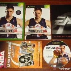 Videojuegos y Consolas: JUEGO XBOX NBA LIVE 06. Lote 139919634