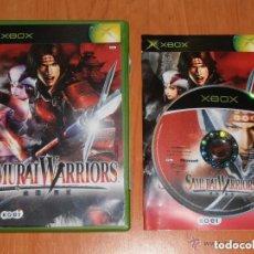 Videojuegos y Consolas: JUEGO XBOX SAMURAI WARRIORS. Lote 144295006