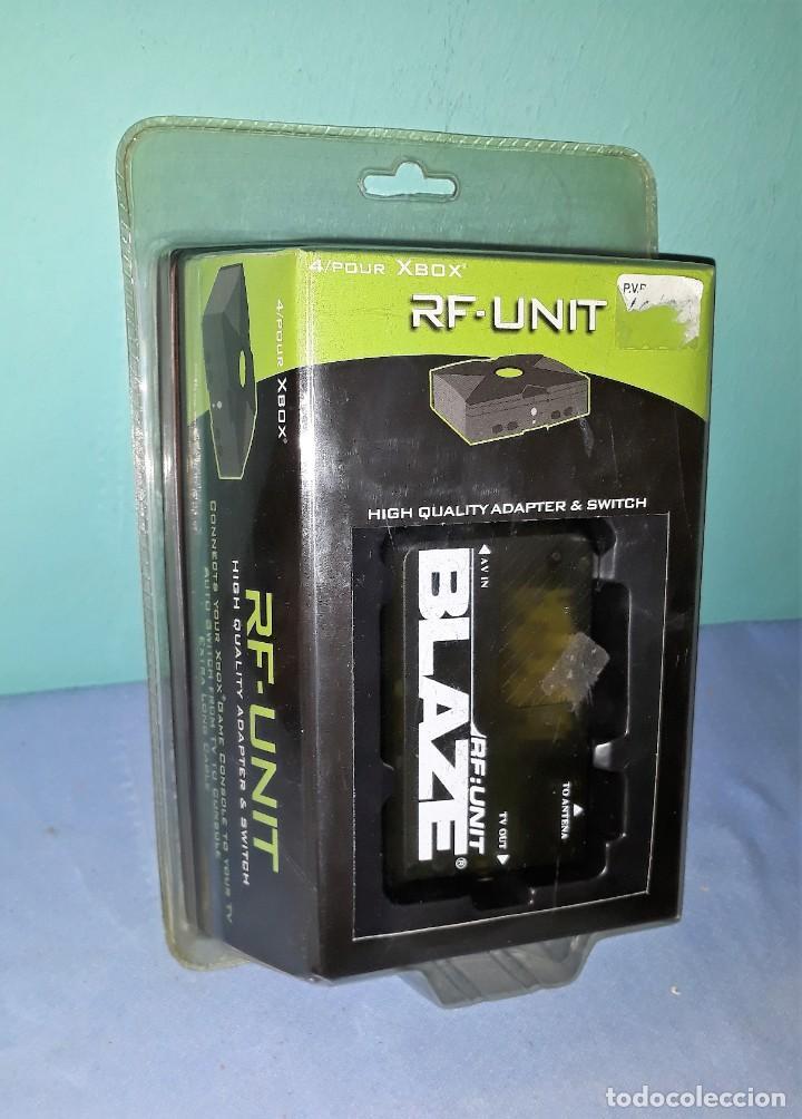 RF UNIT CONSOLA XBOX BLAZE 4/POUR ADAPTER & SWITCH ORIGINAL A ESTRENAR VER FOTOS Y DESCRIPCION (Juguetes - Videojuegos y Consolas - Microsoft - Xbox)