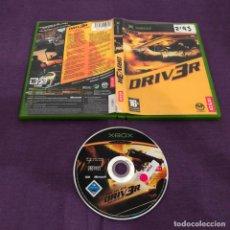 Videojuegos y Consolas: DRIVER 3 SIN MANUAL MICROSOFT XBOX 2. Lote 146919070