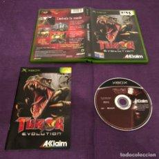 Videojuegos y Consolas: TUROK EVOLUTION MICROSOFT XBOX . Lote 146919218