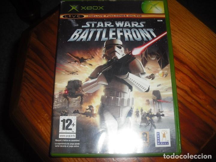 STAR WARS BATTLEFRONT PARA XBOX EN ESPAÑOL - COMPLETO (Juguetes - Videojuegos y Consolas - Microsoft - Xbox)