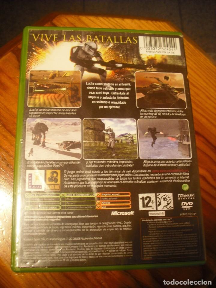 Videojuegos y Consolas: STAR WARS BATTLEFRONT PARA XBOX EN ESPAÑOL - COMPLETO - Foto 2 - 147319022