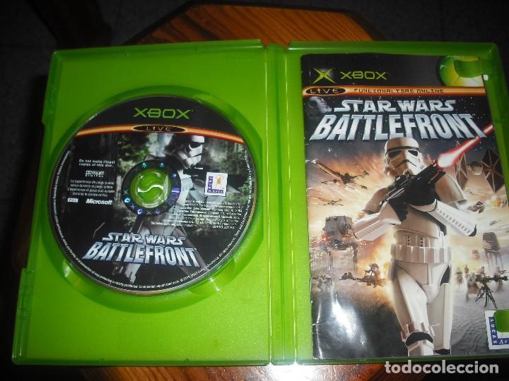 Videojuegos y Consolas: STAR WARS BATTLEFRONT PARA XBOX EN ESPAÑOL - COMPLETO - Foto 3 - 147319022