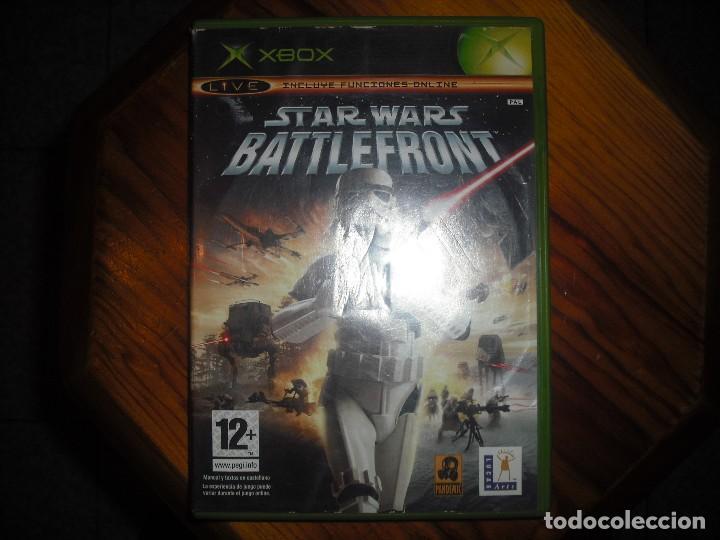 Videojuegos y Consolas: STAR WARS BATTLEFRONT PARA XBOX EN ESPAÑOL - COMPLETO - Foto 4 - 147319022