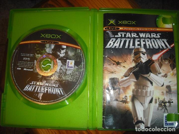 Videojuegos y Consolas: STAR WARS BATTLEFRONT PARA XBOX EN ESPAÑOL - COMPLETO - Foto 5 - 147319022