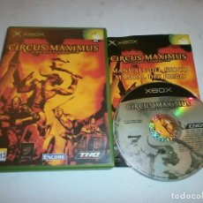 Videojuegos y Consolas: CIRCUS MAXIMUS CHARIOT WARS XBOX . Lote 147524054