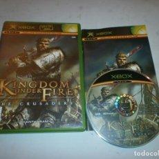Videojuegos y Consolas: KINGDOM UNDER FIRE THE CRUSADERS PAL XBOX. Lote 147524894