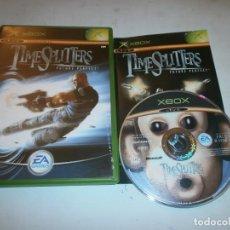 Videojuegos y Consolas: TIMESPLITTERS FUTURE PERFECT XBOX PAL COMPLETO. Lote 147526138
