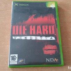 Videojuegos y Consolas: DIE HARD VENDETTA XBOX PAL ESPAÑA COMPLETO. Lote 151212966