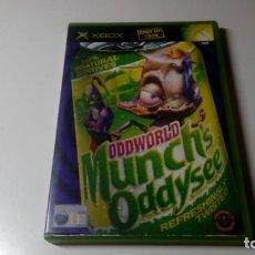 Videojogos e Consolas: ODDWORLD MUNCHS ODDYSEE XBOX CON INSTRUCCIONES OPTIMO ESTADO NO 360 NO ONE. Lote 151332558