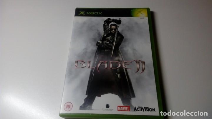 BLADE II XBOX CON INSTRUCCIONES OPTIMO ESTADO NO 360 NO ONE (Juguetes - Videojuegos y Consolas - Microsoft - Xbox)