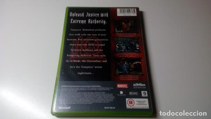 Videojuegos y Consolas: BLADE II XBOX CON INSTRUCCIONES OPTIMO ESTADO NO 360 NO ONE - Foto 4 - 151332598