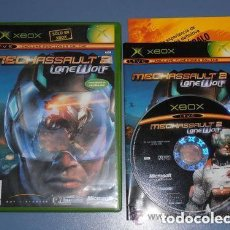 Videojuegos y Consolas: JUEGO XBOX MECHASSAULT 2 LONE WOLF. Lote 151668510