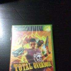 Videojuegos y Consolas: VIDEOJUEGO TOTAL OVERDOSE PARA XBOX (PAL/UK). Lote 152036102