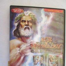 Videojuegos y Consolas: JUEGO AGE OF MYTHOLOGY GOLD EDITION NUEVO , DOS DISCOS TOTALMENTE EN CASTELLANO . Lote 157873358