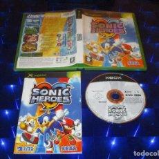 Videojuegos y Consolas: SONIC HEROES - XBOX - SEGA - ¡ UNETE AL EQUIPO !. Lote 158917470